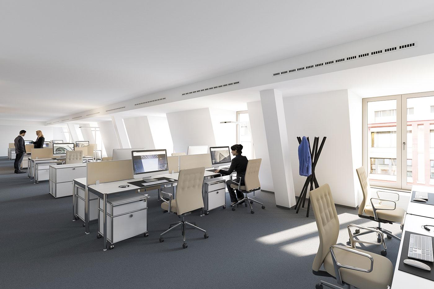 Moderne b rokonzepte grundriss neuesten for Kare design frankfurt